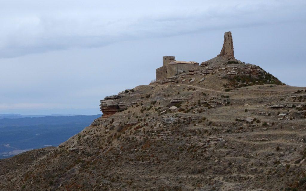 Castillo de Sarsamarcuello, restos.